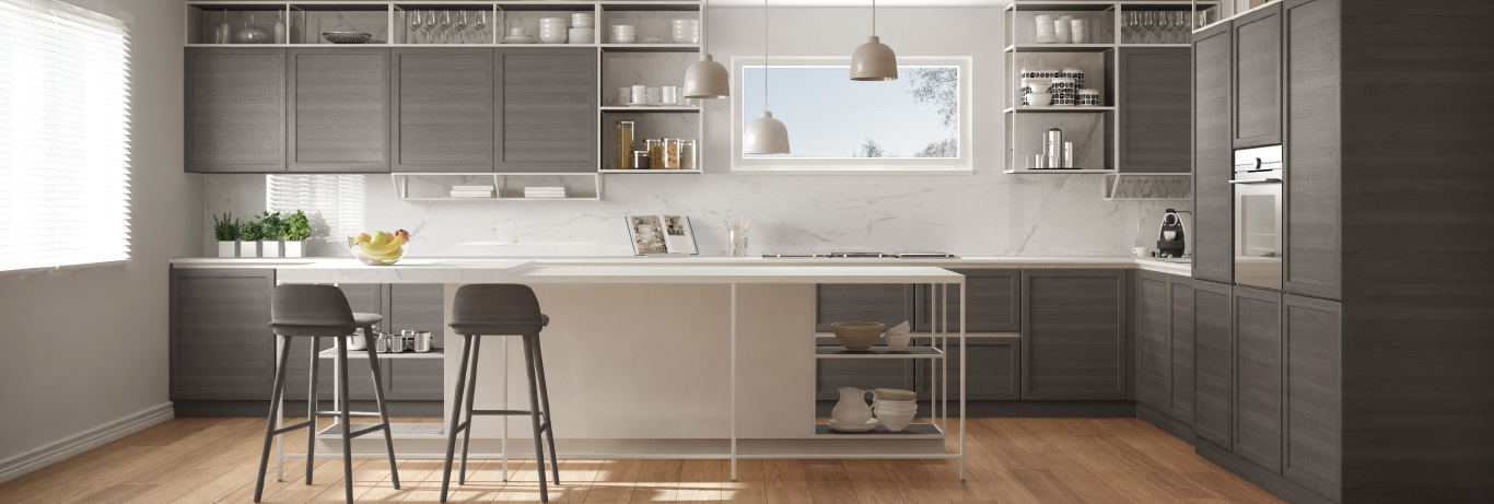 Bristol Cabinetry Kitchen Previewing High-end Cabinets and Handles